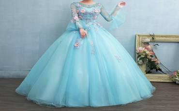 Gaun Pernikahan Muslim yang Sederhana dan Elegan